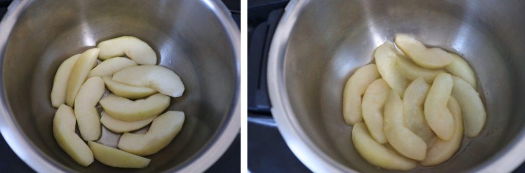 洋梨のコンポートの作り方