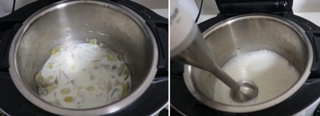 里芋のポタージュレシピ