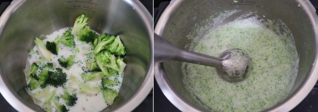 ホットクックで作る緑鮮やかブロッコリーのポタージュのレシピ
