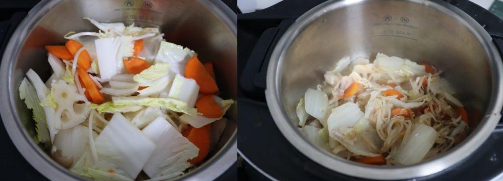 ホットクックで簡単八宝菜のレシピ