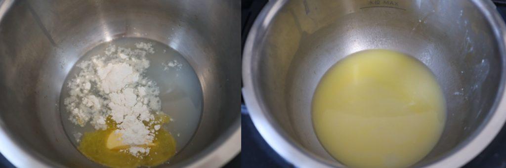 ホットクックで作るハマグリのクラムチウダーのレシピ