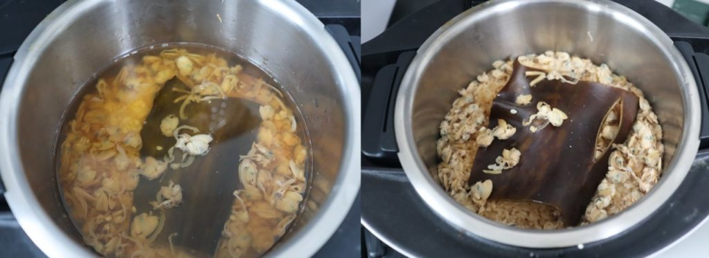 ホットクックで作るはまぐりの炊き込みご飯のレシピ