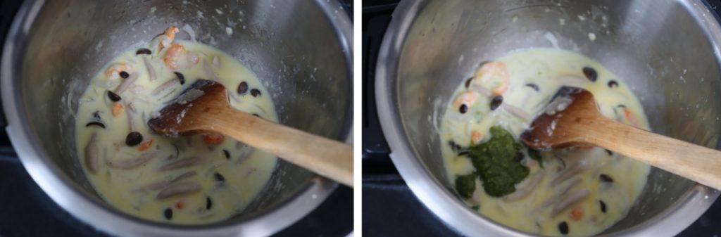 ホットクックで作るバジルソース入りマカロニグラタンのレシピ
